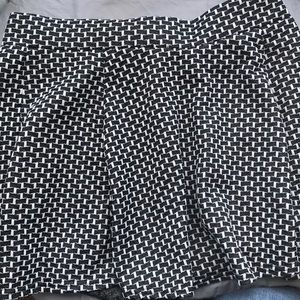 Dark grey and white skirt